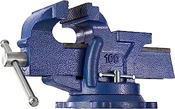 tectake 401124 Bankschroef aambeeld 360° draaibaar - Spanwijdte 125 mm
