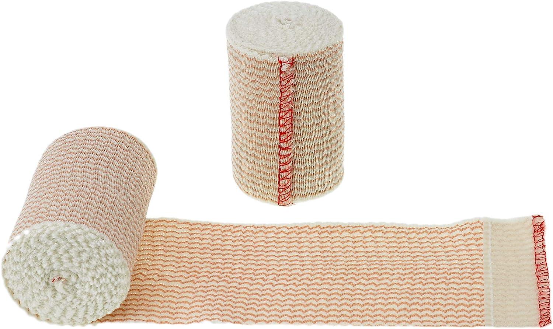 Dealmed Brand Elastic Dallas Mall Compression Bandage Self Wrap Fashionable Closure with