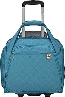 حقيبة حمل متدحرجة تحت المقعد، باللون الأزرق المائل إلى الخضرة، مقاس واحد، حقيبة حمل متدحرجة تحت المقعد من ديلسي باريس.