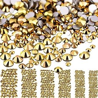 Best gold rhinestone nail art Reviews