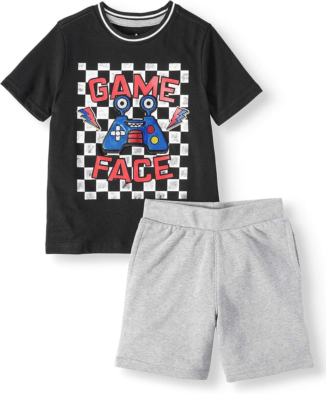 Garanimals low-pricing Boy's Short Sleeve Ringer and 2021 T-Shirt Set