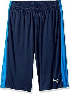 Big Boy's Puma Boys' Form Stripe Short Shorts, deep navy, Extra Large