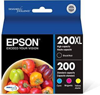 Epson T200XL-BCS DURA Ultra High Capacity Cartridge Ink Black and Color Combo Pack