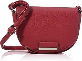 Denim TOM TAILOR bags MADRID Damen Umhängetasche One Size , cognac, 24,5x8x16