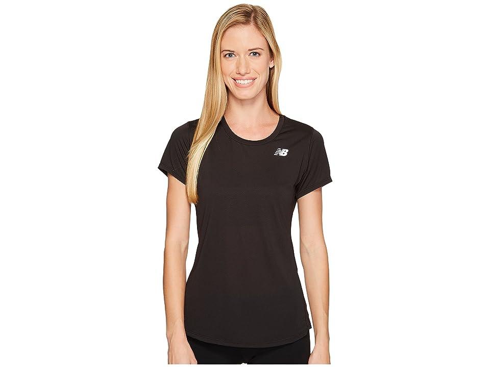 New Balance Accelerate Short Sleeve (Black) Women