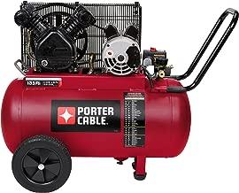 Porter Cable PXCM202 Portable Belt Drive Air Compressor, 20 gallon