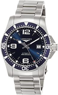 [ロンジン] 腕時計 ハイドロコンクエスト 自動巻き L3.742.4.96.6 メンズ 正規輸入品 シルバー