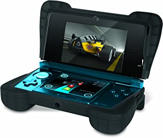 """Comfort Grip for Original 3DS (Not the """"NEW"""" version) – Silicone Protective Cover Gives Your 3DS Armor - (Transparent Black)"""