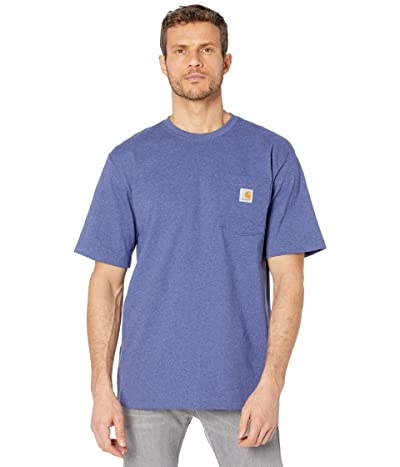 Carhartt Workwear Pocket S/S Tee K87 (Dusk Blue Heather) Men
