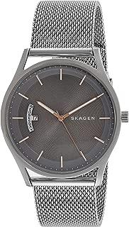 (Renewed) Skagen Holst Analog Silver Dial Mens Watch - SKW6396#CR