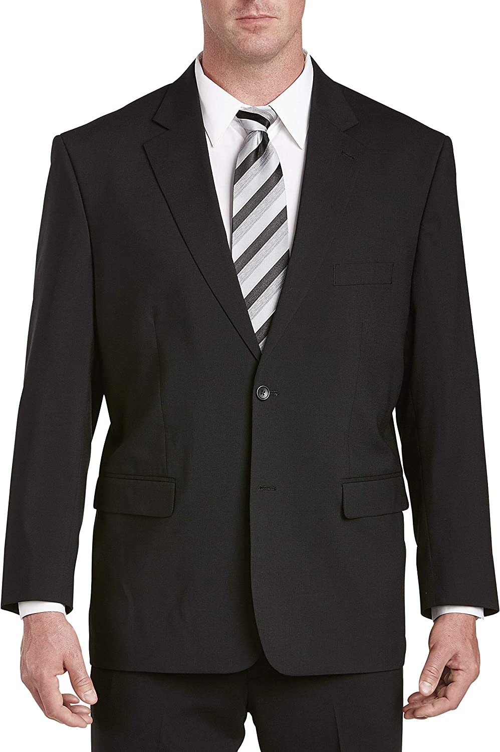 Gold Series by DXL Big and Tall Jacket-Relaxer Suit Jacket (Regular/Short)