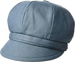 CTH8164 - Baker Boy Linen Cap
