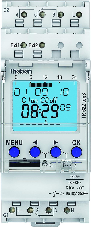 Theben TR 622 TOP2 Interruptor horario digital