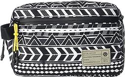 Black/White/Global Stripe