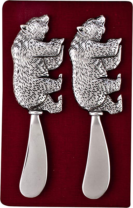 Thirstystone N166 Cheese Spreaders Bear