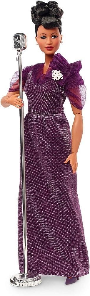 Barbie,inspiring women, ella fitzgerald bambola da collezione GHT86
