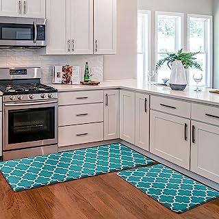 KMAT Kitchen Mat [2 PCS] Cushioned Anti-Fatigue Kitchen...