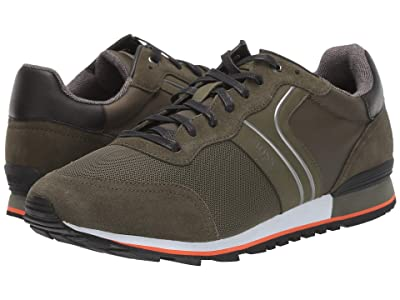 BOSS Hugo Boss Parkour Sneaker by BOSS (Dark Green) Men