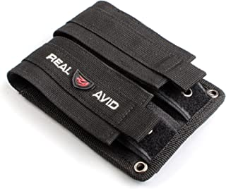 Real Avid Double Pistol Mag Pouch for Tall, Short, Single Stack, & Double Stack Pistol Magazines