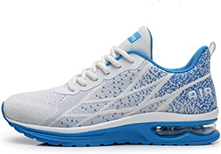 Men's Air Athletic Running Shoes Fashion Sport Gym Jogging Tennis Fitness Sneaker (US7-12.5 D(M)