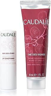 Caudalie Duo Pack Lip Stick Labial 4.5g + Hand & Nail Cream 30ml Thé De Vignes