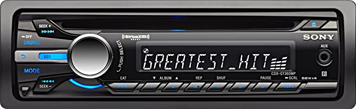 Sony CDXGT360MP Car Stereo CD Receiver (Discontinued by Manufacturer)
