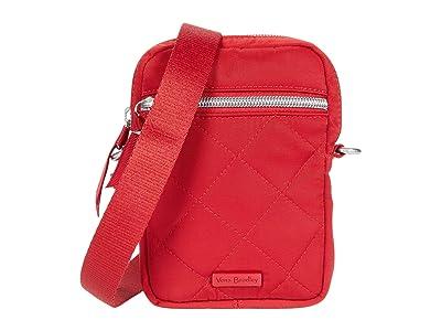 Vera Bradley Performance Twill RFID Convertible Small Crossbody (Cardinal Red) Handbags
