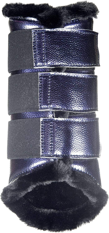 Hkm Hkm 4057052301360 Dressage Boots Metallic6900 Dark bluee XL