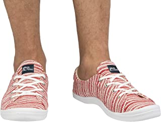 Cressi 男女通用塞维拉多运动夏季鞋,红色/白色,英国码 11.5 - 欧洲码 46