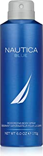 Nautica Blue Body Spray for Men, 6 Fluid Ounces
