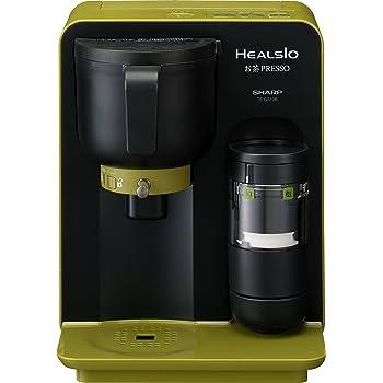シャープ ヘルシオ(HEALSIO) お茶プレッソ グリーン系 スタンダードタイプ TE-GS10B-G