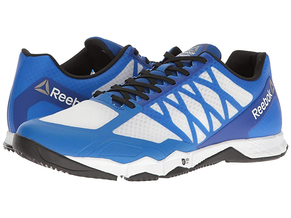 Reebok Crossfit(r) Speed TR (White/Black/Awesome Blue/Pewter) Men