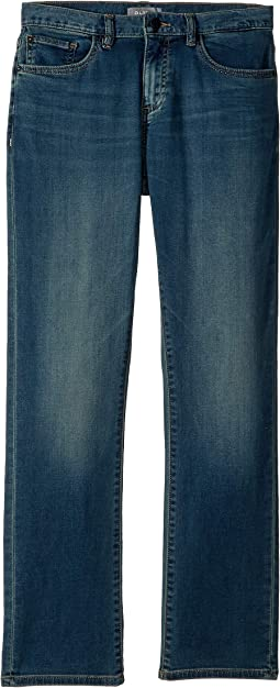 Brady Dark Wash Knit Denim Slim Leg in Vibes (Big Kids)