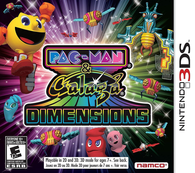 Pac-Man and Galaga Dimensions Max 89% OFF Nintendo 3DS - Fashion