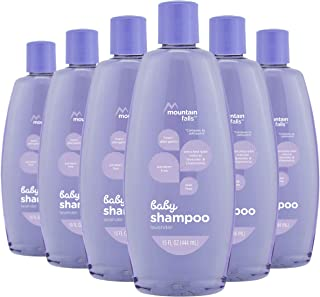Mountain Falls Hypoallergenic Tear-Free Baby Shampoo, with Natural Lavender and Chamomile, 15 Fluid Ounce (Pack of 6)