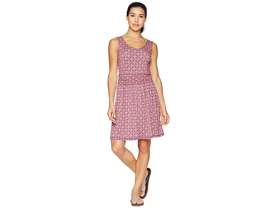 White Sierra Tangier Odor Free Printed Dress (Watermelon) Women