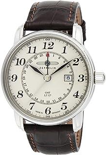 [ツェッペリン]ZEPPELIN 腕時計 Glaf Zeppelin ホワイト文字盤 7642-5N メンズ 【並行輸入品】