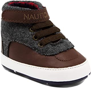 Tiny Boot Like High-Top, Baby Prewalker, Crib Sneakers, Bootie,Toddler/Infant Soft Sole Shoes