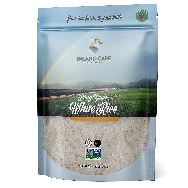 Inland Cape Fresno Mall Rice Long-grain White Non-GMO USA Grown High quality new - 2