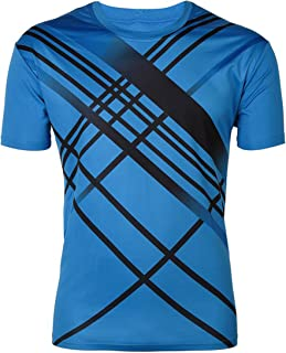ZITY Men Boy Summer Outdoor Sport Quick Dry Short-Sleeves T-Shirt
