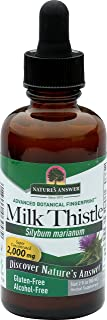 Nature's Answer Alcohol-Free Milk Thistle Extract, 2-Fluid Ounces
