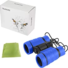 Diswoe Kids Binocular Toy, The Best Birthday Gifts with Adjustable Neck Strap and High Resolution 4x30, for Birds Watching, Hunting and Hiking Activities
