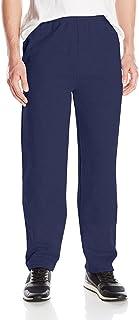 Hanes Men's EcoSmart Open Leg Fleece Pant with Pockets
