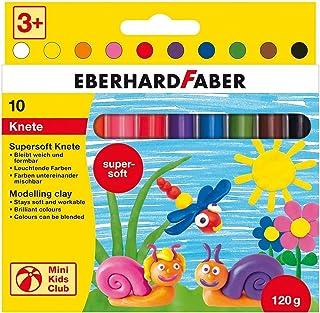 Eberhard Faber 572110 - Mini Kids Club Supersoft ugniatanie, 10 drążków w kartonowym etui