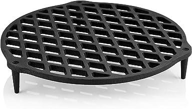 BBQ-Toro Gusseisen Stapelrost | Einsatz für Dutch Oven Durchmesser 22 cm | für 4,5 QT Dutch Oven