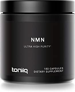 Ultra High Purity Stabilized NMN Capsules - 99.7% Highly Purified for Increased Bioavailability - 300mg - Naturally Boost ...