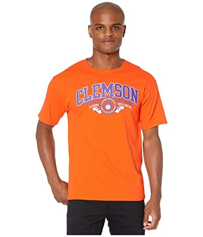 Champion College Clemson Tigers Jersey Tee (Orange 1) Men