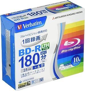 三菱ケミカルメディア Verbatim 1回録画用 BD-R LTH TYPE VLR130YP10V1 (片面1層/1-4倍速/10枚)