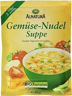 Alnatura Bio Gemüse-Nudel-Suppe, 15er Pack 15 x 40 g