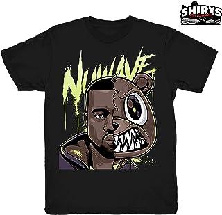 8c253dc00 Mauve 700 Kanye Nu Wave Shirt to Match Yeezy Boost 700 Mauve Sneakers Black  t-